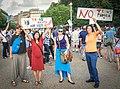2017.07.26 Protest Trans Military Ban, White House, Washington DC USA 7631 (36056741091).jpg