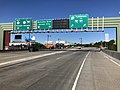 2018-07-08 08 19 10 View west along Interstate 78 (New Jersey Turnpike Newark Bay Extension) at the exit for New Jersey State Route 139 in Jersey City, Hudson County, New Jersey.jpg