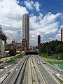 2018 Bogotá la torre Colpatria desde la Avenida 26.jpg