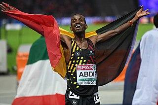 Bashir Abdi Somali-Belgian athlete