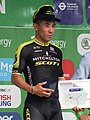 2018 Tour of Britain stage 8 - stage winner Caleb Ewan.JPG