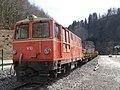 2019-03-03 (210) NÖVOG V10 (ÖBB 2095 010) at Bahnhof Schwarzenbach an der Pielach, Frankenfels, Austria.jpg