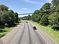 2019-07-15 10 51 53 View south along the southbound lanes of Interstate 95 from the overpass for Vollmerhausen Road on the edge of Columbia and Savage in Howard County, Maryland.jpg