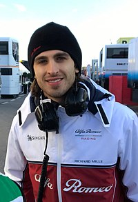 2019 Formula One tests Barcelona, Giovinazzi (47200025952).jpg