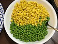 2020-12-25 18 11 01 Corn and peas from Whole Foods in the Parkway Village section of Ewing Township, Mercer County, New Jersey.jpg
