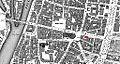 2102-bruecke-kaiserstr-1900, Doppelhaus Kaiserstr. 42 u. 44 rot markiert.jpg