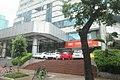 34 SZ 深圳 Shenzhen 福田 Futian 紅嶺北路 Hongling North Road June 2017 IX1 bus 123 view 02 Ping An Life branch stairs.jpg