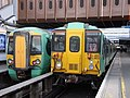 377 444 and 455 809 at London Bridge.jpg