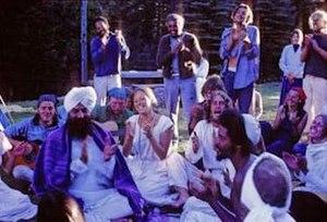 Harbhajan Singh Khalsa - 1970 gathering at Santa Clara Canyon, New Mexico