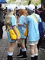 3 cosplayers of Platelet, Cells at Work! 20181209a.jpg