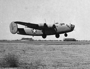 415th Flight Test Flight - Image: 415th Bombardment Squadron B 24 Liberator