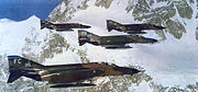 43d Tactical Fighter Squadron - F-4Es at Mount McKinley