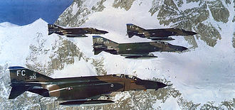 343d Wing - 43d Tactical Fighter Squadron F-4Es at Mount McKinley