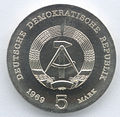 5 Mark DDR 1969 - 75. Todestag von Heinrich Hertz - Wertseite.JPG