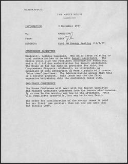 Memorandum document