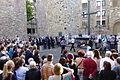 70. Jahrestag des Atombombenabwurfs auf Hiroshima Gedenken in der Ruine der Aegidienkirche, Hannover, 6. August 2015 05.JPG