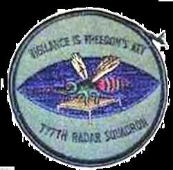 777th Radar Squadron