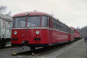 Dahlerau train disaster - Railbus of the model involved in the accident