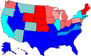 United States House of Representatives elections, 1960 - Image: 87 us house membership