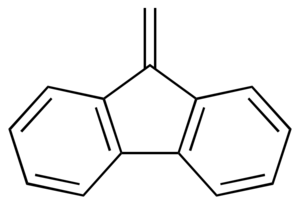 9-Methylene-fluorene - Image: 9 Methylene fluorene