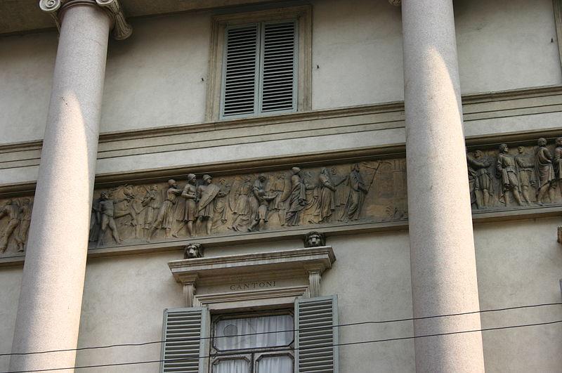 File:9007 - Milano - Corso Venezia - Palazzo Serbelloni - Foto Giovanni Dall'Orto 25-Apr-2007.jpg
