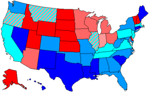 United States House of Representatives elections, 1966 - Image: 90 us house membership