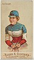 A.J. Cassatt, from the Racing Colors of the World series (N22b) for Allen & Ginter Cigarettes MET DP835208.jpg