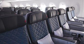 Delta Air Lines - Delta Premium Select on an Airbus A350-900