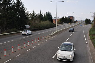 A4234 road road in Wales