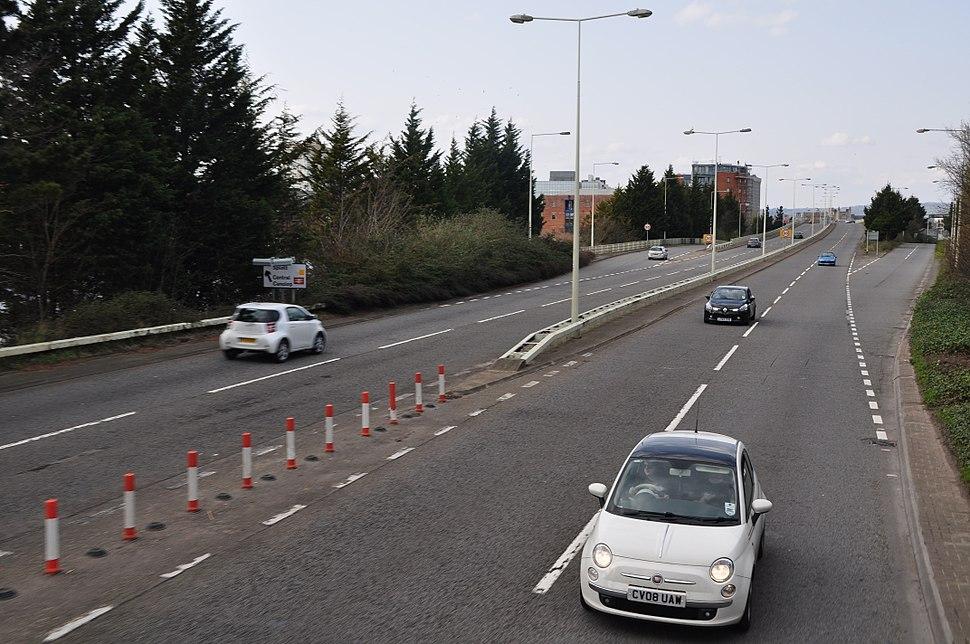 A4234 road (Splott junction)