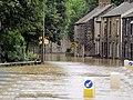 A635 road flooded at Darfield Bridge - geograph.org.uk - 480814.jpg