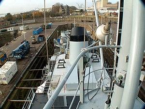 A960 in Drydock p1, Antwerp, Belgium.JPG