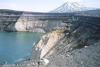 Alaska Peninsula - Peulik Volcano and Ukinrek Maars