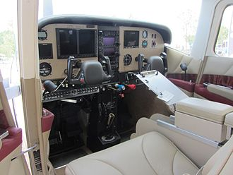 Aircraft Owners and Pilots Association - A Cessna 182 panel upgrade featured in AOPA publications for the 2011 sweepstakes