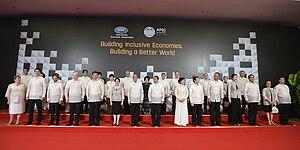 APEC Philippines 2015 - Image: APEC Philippines 2015 delegates