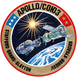 1975 in the United States - July 17: Apollo–Soyuz Test Project orbital docking