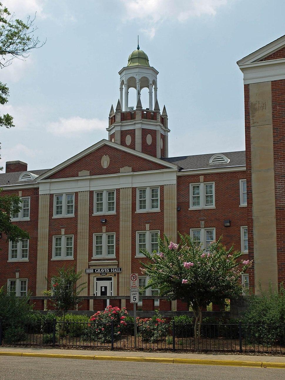 ASU Bibb Graves Hall June 09 02