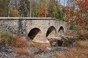 National Register of Historic Places listings in Bucks County, Pennsylvania - Image: ATKINSON ROAD BRIDGE