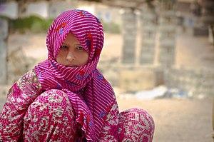 Bedouin - A Bedouin girl in Nuweiba - Egypt 2015