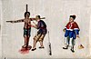 A Chinese woman tied to a cross and being tortured Wellcome V0041438.jpg