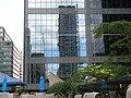 A building under construction left an interesting pattern (4827823043).jpg