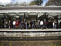 A crowded down-platform at Durham Station - geograph.org.uk - 1237713.jpg