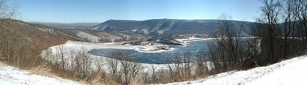 Raystown Lake from Ridenour Overlook, 2014