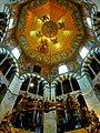 Aachen – Aachener Dom - Innenaufnahme von der Kuppel - panoramio.jpg