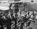 Aankomst filmacteur Gary Cooper op Schiphol, Bestanddeelnr 907-0725.jpg