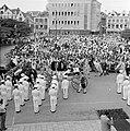 Aankomst van het koninklijk paar bij het stadhuis van Willemstad, Bestanddeelnr 252-3632.jpg