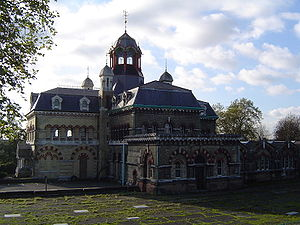 Greenway footpath, London - Image: Abbey Mills Pumping Station 3