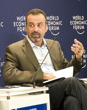 Abdul Malik Jaber - Al-Jaber at the World Economic Forum on the Middle East in 2010
