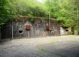 The Maginot Line at Entrange