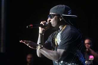 Ace Hood - Hood performing in 2013